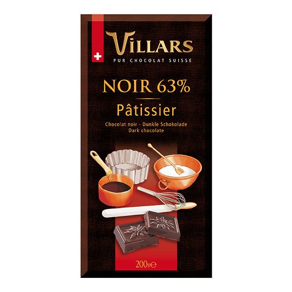 Villars Schokolade Couverture Zartbitter Patissier