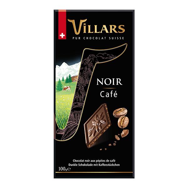 Villars Zartbitter Schokolade mit Kaffee