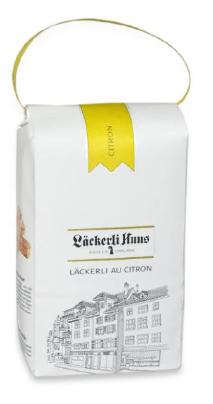 Basler Läckerli au Citron im Beutel