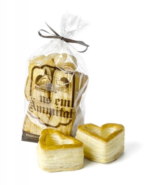 Emmentaler Backwaren Herz-Blätterteig Pastetli