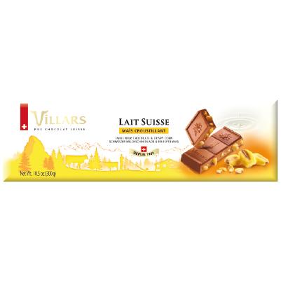 Villars Milchschokolade mit Knuspermais