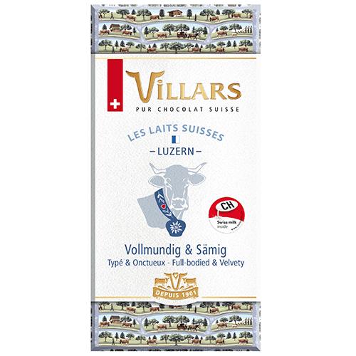 Chocolat Villars Laits Suisses Luzern
