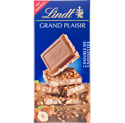 Lindt Grand Plaisir Double Noisettes Lait