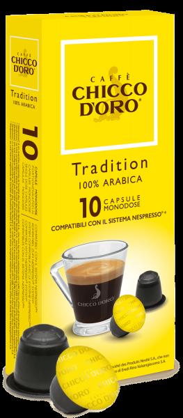 Chicco d'Oro Tradition Kapseln Nespresso kompatibel