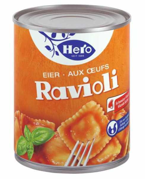 Hero Eier Ravioli