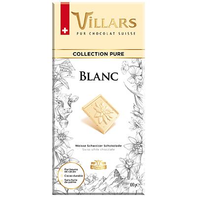 Villars Weisse Schokolade Pur