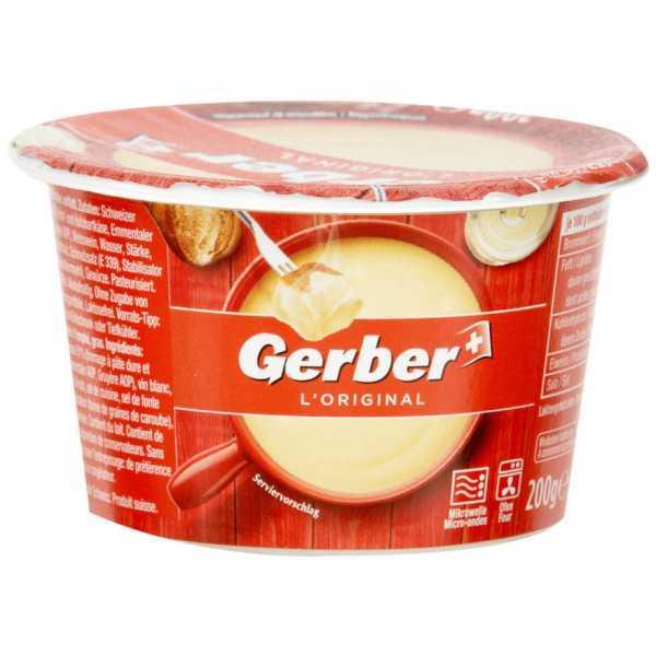 Gerber Fondue L'Original für Mikrowelle