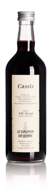 Cassis Sirup