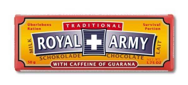 Royal Army Milch Schokolade
