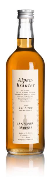 Alpenkräuter Sirup