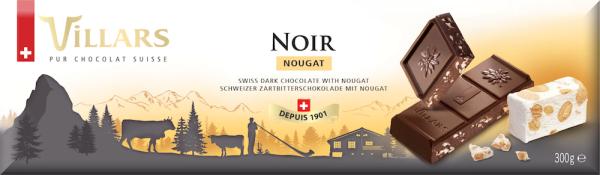 Villars Dunkle Schokolade mit Nougat