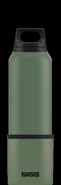 Sigg Bottle Hot & Cold Leaf Green 0.75l mit Becher