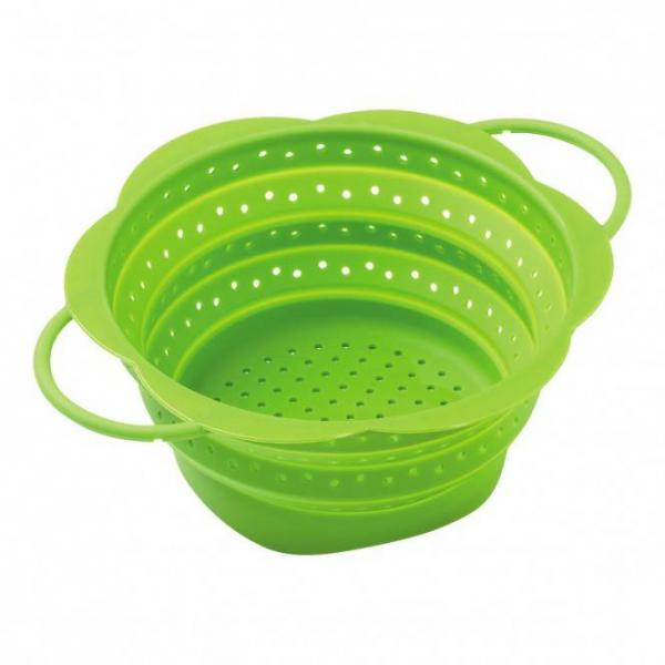 Kuhn Rikon Sieb faltbar 19cm grün, BPA frei