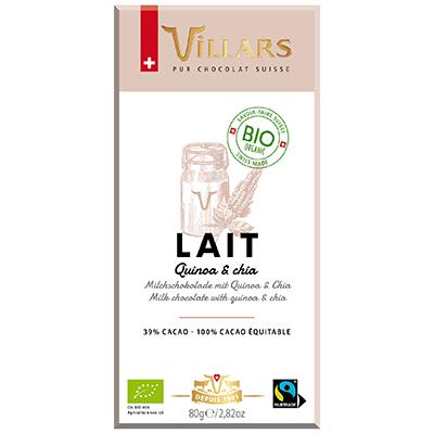 Villars Milchschokolade mit Quinoa & Chia