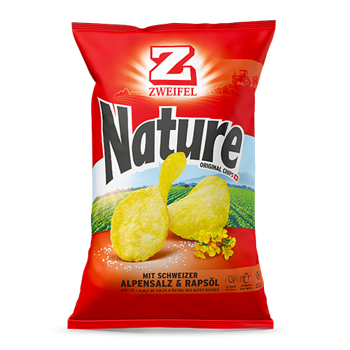Zweifel Original Nature Chips mit Alpensalz