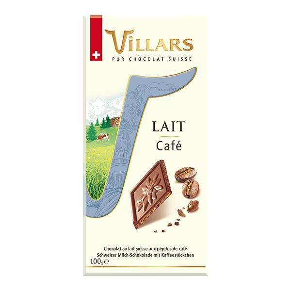 Villars Milchschokolade mit Mandelstückchen