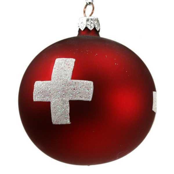 Schweizer Weihnachtskugel, 5cm