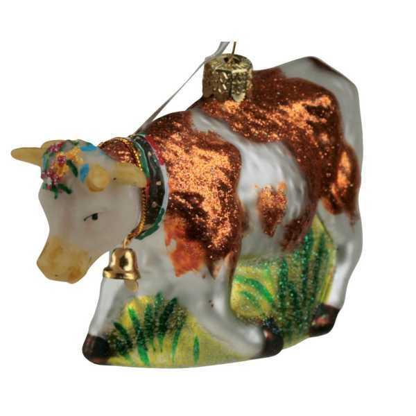 Weihnachtsschmuck Kuh