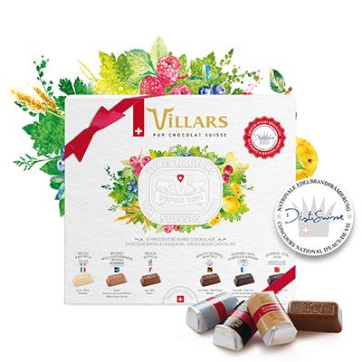 Villars Edelbrand Schokolade (Pures Liqueurs)
