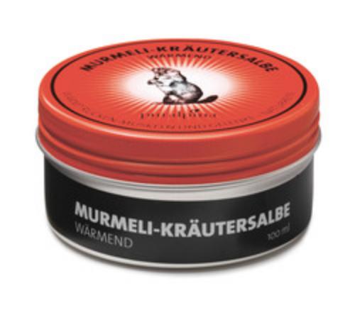 Murmeli Kräutersalbe - rot, kleine Dose