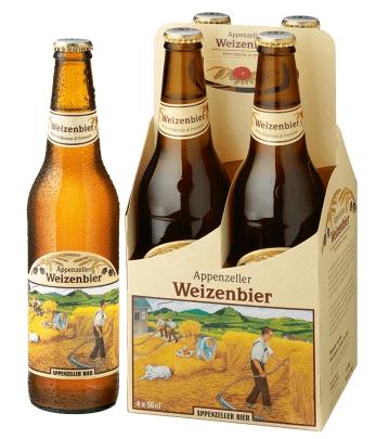 Appenzeller Weizen Bier 4er Pack