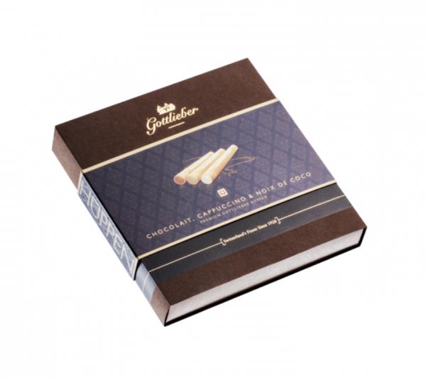 Gottlieber Hüppen Chocolait, Cappuccino & Noix de Coco