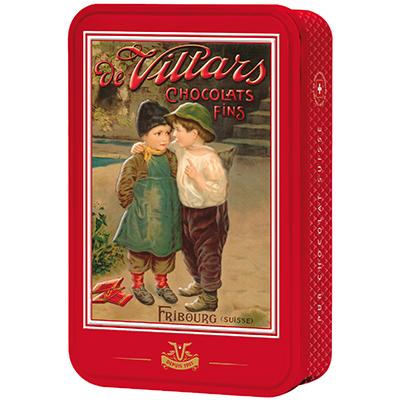 Villars Geschenkdose Les Enfants (Pralinen Schokolade Sortiment)