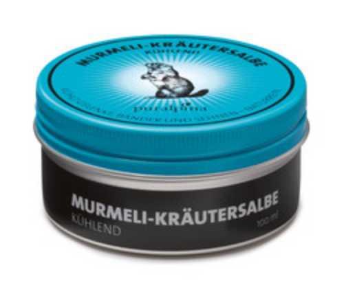 Murmeli Kräutersalbe - blau, grosse Dose