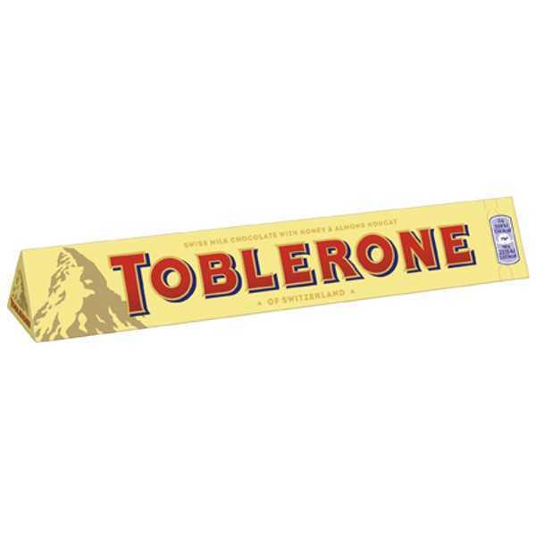 Schweizer Toblerone Milch gross 360g Tafel