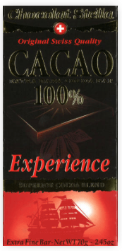 Chocolat Stella Experience Pure Cacao 100%