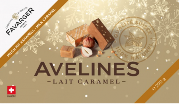 Favarger Milch Caramel Avelines