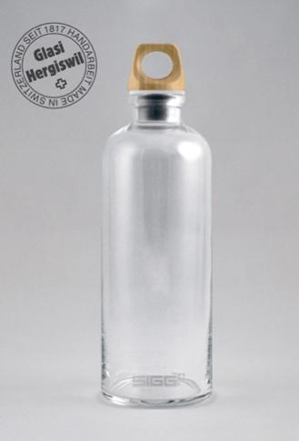 Sigg Glasflasche - Limitiert und Nummeriert