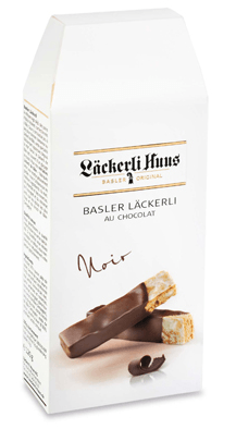 Basler Läckerli au Chocolat noir