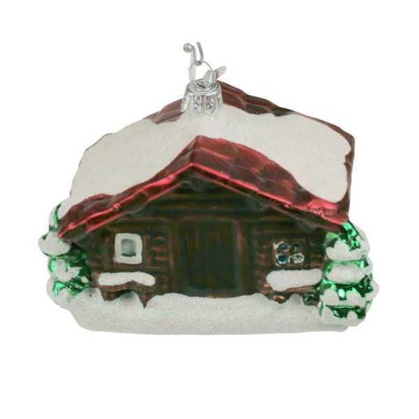 Weihnachtsschmuck Alphütte