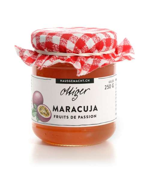 Passionsfrucht (Maracuja) Gelee