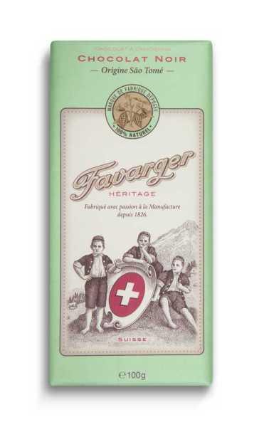 Favarger Héritage - Zartbitterschokolade 66%