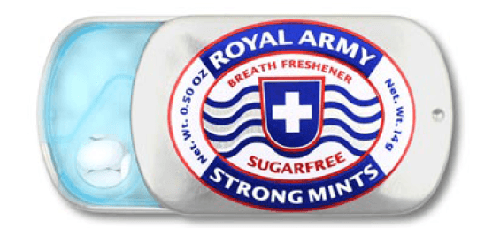 Royal Army Strong Mints