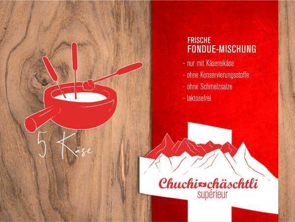 5 Käse Fondue Mischung