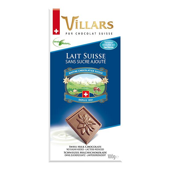Villars Milchschokolade Suisse (laktosereduziert)