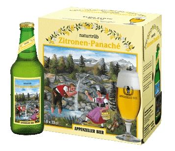 Appenzeller Zitronen Panaché Bier 6erPack