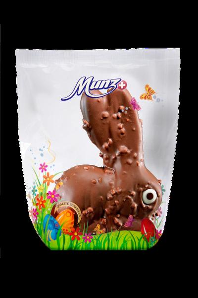 Munz Osterhase Milchschokolade mit Haselnusssplittern