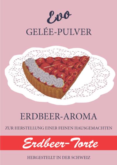 Evo Gelee Pulver Erdbeertorte
