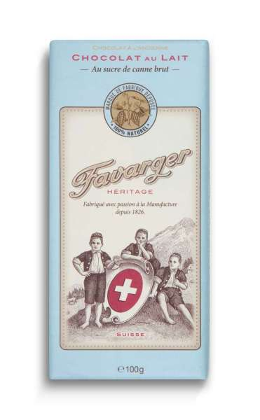 Favarger Héritage - Milchschokolade