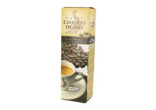 Chicco d'Oro Espresso Italiano (10 Kapseln à 8g)