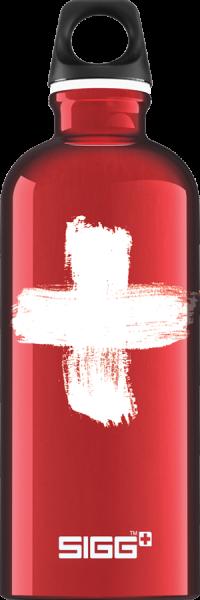 Sigg Trinkflasche Swiss Red 0.6l