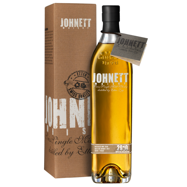 Johnett Swiss Single Malt Whisky 2010, 7 Jahre alt