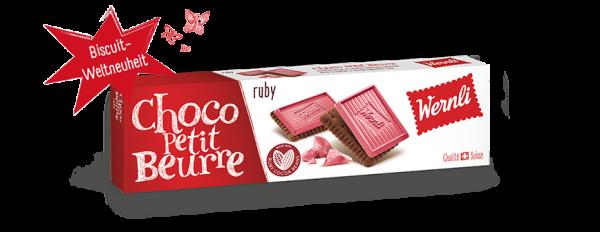Wernli Choco Petit Beurre Ruby Schokolade