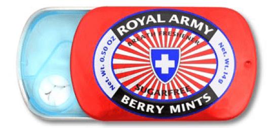 Royal Army Berry Mints
