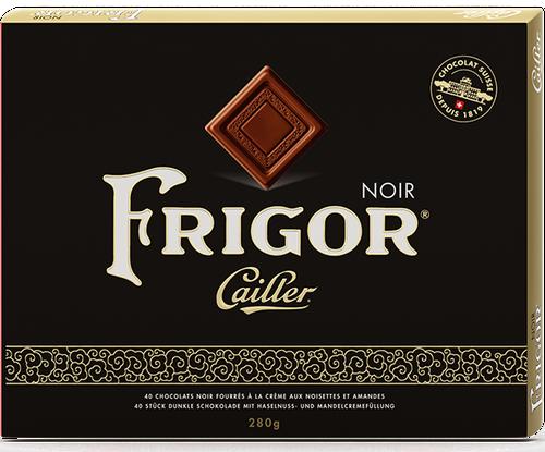 Cailler Frigor Noir Carrés