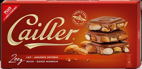 Cailler Milch Mandel